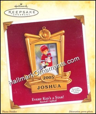 2005 Every Kids A Star, Baseball/Softball, Photo Holder