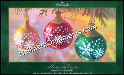 Illuminations, Snowflake Snowballs, set of 3