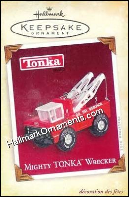 2005 Mighty Tonka Wrecker, Tonka