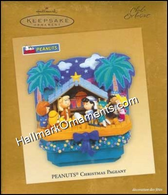 2005 Peanuts Christmas Pageant, Magic, Club - RARE - DB