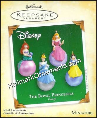 2005 Royal Princesses, Disney, Miniature