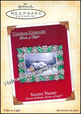 2005 Silent Night, Thomas Kinkade