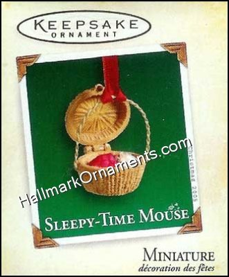 2005 Sleepy-Time Mouse, Miniature