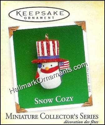 2005 Snow Cozy #4, Miniature