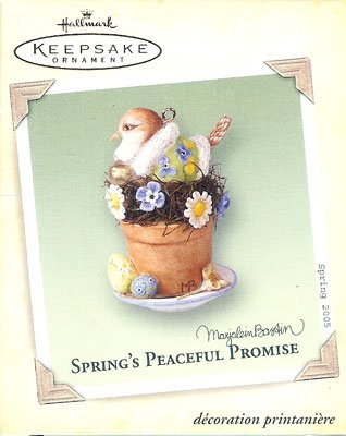 2005 Spring's Peaceful Promise, Nature's Sketchbook