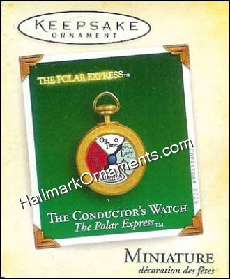 2005 The Conductor's Watch, The Polar Express, Miniature