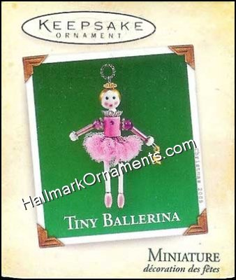 2005 Tiny Ballerina, Miniature