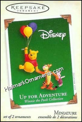 2005 Up For Adventure, Winnie the Pooh, Miniature