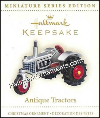 2006 Antique Tractor #10, Miniature