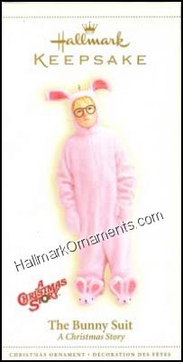 2006 Bunny Suit, A Christmas Story - RARE