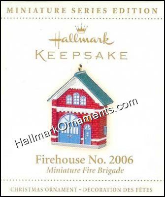 2006 Firehouse No 2006, Miniature Fire Brigade #3