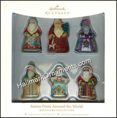 2006 Santas From Around the World, Miniatures
