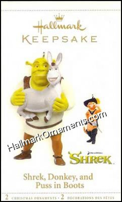 2006 Shrek Donkey and Puss in Boots