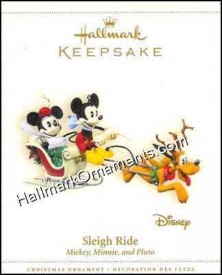 2006 Sleigh Ride, Mickey and Minnie