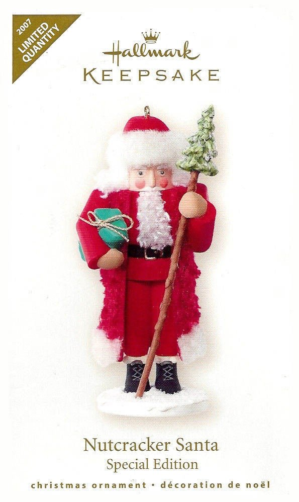 2007 Nutcracker Santa, Limited Quantity