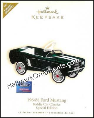 2007 1964 1/2 Ford Mustang, Kiddie Car Classics, LIMITED QUANTITY, COLORWAY