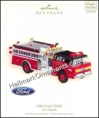 2007 1988 Ford C8000, Fire Brigade #5 DB