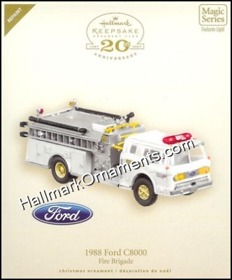 2007 1988 Ford C8000, Fire Brigade #5 COLORWAY