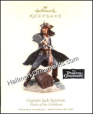 2007 Captain Jack Sparrow, Disney's Pirates of the Caribbean