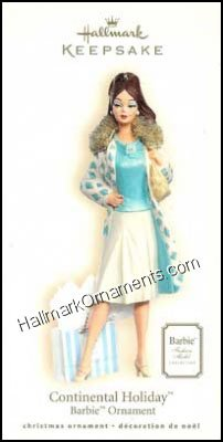 2007 Continental Holiday Barbie