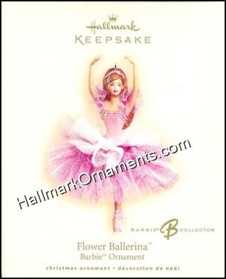 2007 Barbie Flower Ballerina