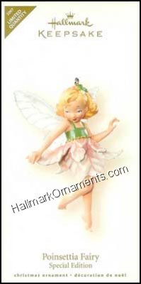 2007 Poinsettia Fairy, Fairy Messengers, Limited Quantity Colorway