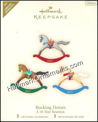 2007 Rocking Horses, Miniature