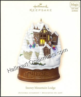 2007 Snowy Mountain Lodge, RARE
