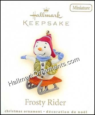 2009 Frosty Rider, Miniature