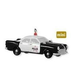 2009 Police Cruiser, Miniature