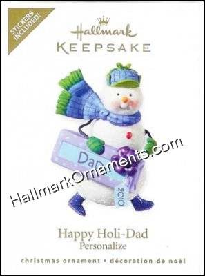 2010 Happy Holi-Dad, Personalize