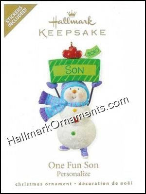 2010 One Fun Son, Personalize