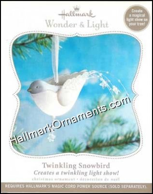 2010 Twinkling Snowbird, Wonder and Light