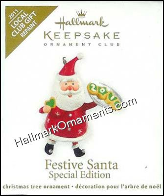 2011 Festive Santa #3, Colorway, Miniature