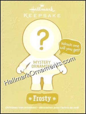 2011 Frosty Mystery Ornament, Aloha Frosty