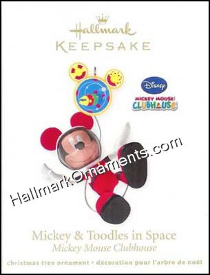 2011 Mickey and Toodles in Space