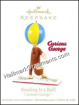 2011 Reading Is A Ball, Curious George
