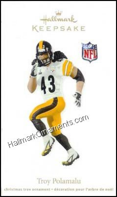 2011 Troy Polamalu, Football Legends Compliment - DB