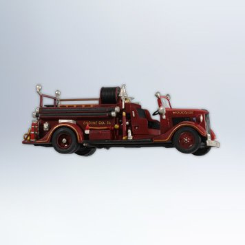 2012 1936 Ford Fire Engine, Fire Brigade #10