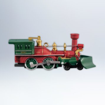 2012 LIONEL Nutcracker Route Christmas Train Locomotive, Lionel #17