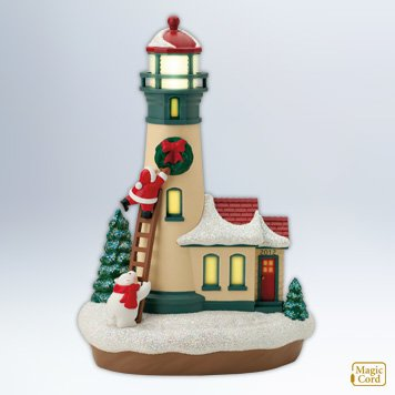 2012 Holiday Lighthouse #1, Magic Cord