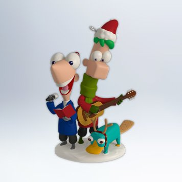 2012 Perry Christmas!, Phineas and Ferb