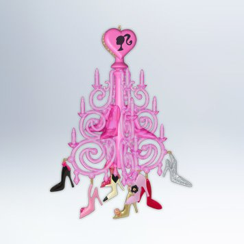 2012 The Shoe Chandelier, Barbie