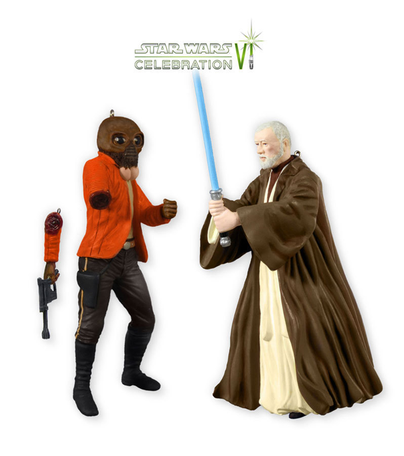2012 Obi Wan Kenobi and Ponda Baba, Star Wars Celebration VI - RARE