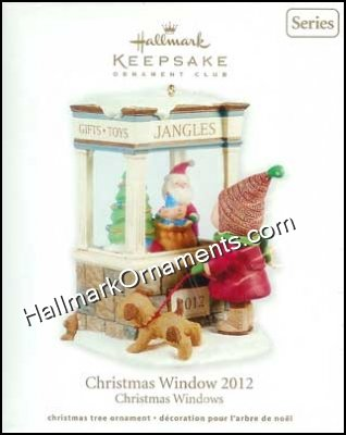 2012 Christmas Window #10, Club Ornament