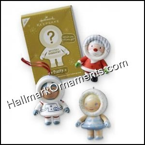 2012 Frosty Mystery Ornament, Unopened