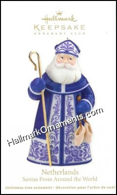 2012 Netherlands, Santas Around the World, Club Ornament