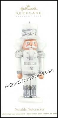 2012 Notable Nutcracker, Club Ornament