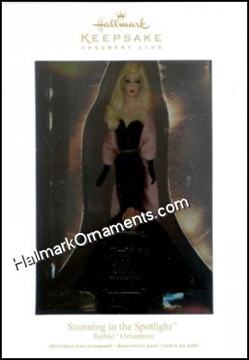2012 Stunning in the Spotlight Barbie, Club Ornament