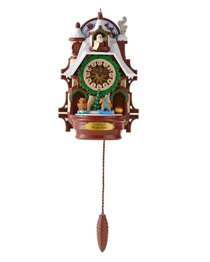2013 Santa's Magic Cuckoo Clock, Magic Cord, Hard to Find!